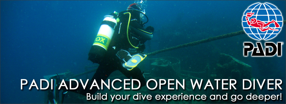 PADI Advanced Open Water Diver Diving Adelaide