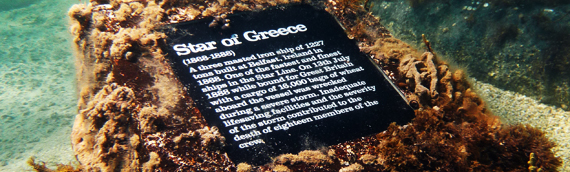 Star of Greece Underwater Marker