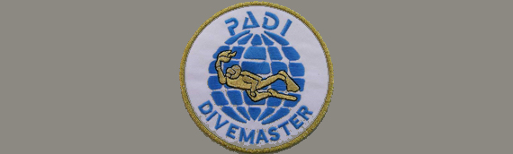 PADI Divemaster Course Badge Diving Adelaide