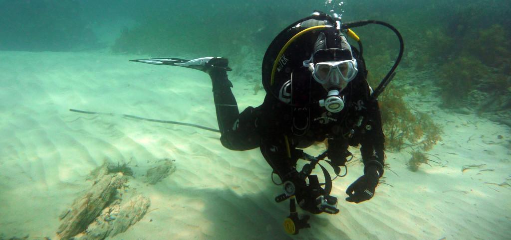 Diving In A Neoprene Drysuit Is As Easy  As Diving In A Wetsuit