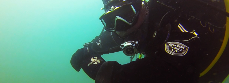 Scubapro Evertec Drysuit Road Test Header