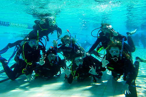 Pool Group PADI Open Water Diver Course