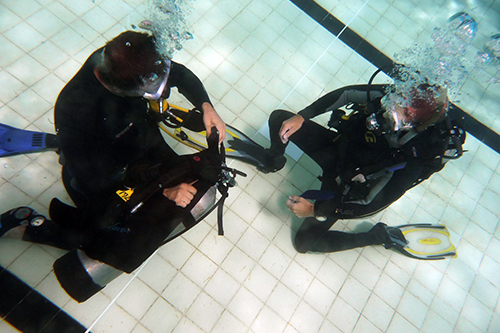 Pool Session PADI Open Water Diver Course